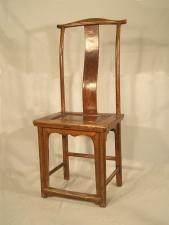 Early Chinese yoke back chair c1820