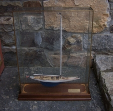 Vintage 1929 Americas Cup Yacht Enterprise ship model
