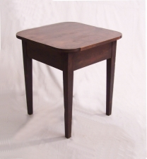 American Southern  Hepplewhite country kitchen work table c1820