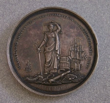 Maryland Institute for the Promotion of the Mechanic Arts silver medal to Chapin 1856