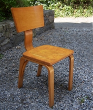 Thonet bentwood side chair New York c1950