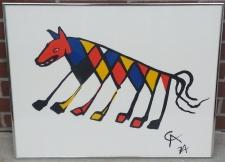 Alexander Calder Beasties 1974 lithograph