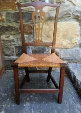 New England country Chippendale chair c1780