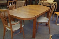 H Sigh and Sons Mobelfabrik A S teak dining table c1950