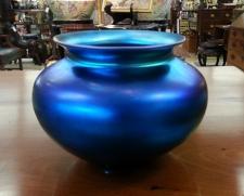 Steuben Aurene glass vase c1920