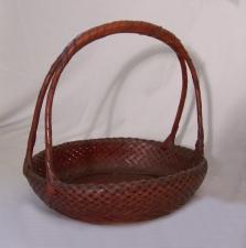 Japanese Meiji Ikebana Basket c1890