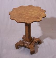 Antique Victorian oak plant stand c1880