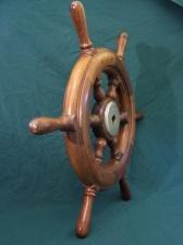 Vintage sailing yacht wheel c1930