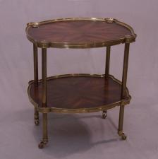 Vintage mid 20th century bar or tea cart