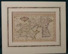 Bellin Map Carte du Katay Ou Empire De Kin c1760